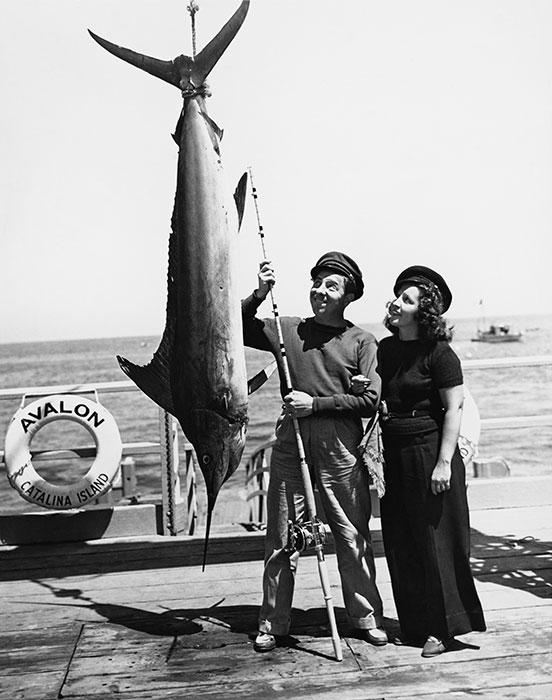 Monkfish svante med fru